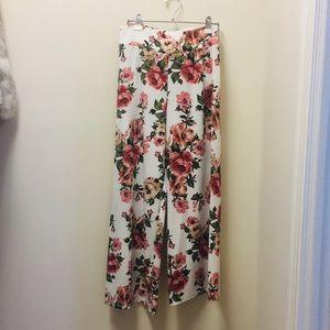 Floral Design Pants